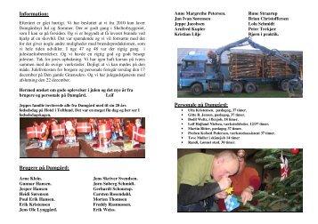 Damgårdnyt jul 2009 - Haderslev Værkstederne