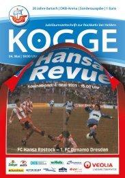 DKB-Arena | Sonderausgabe - FC Hansa Rostock