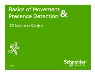 How can I install these detectors at home or in ... - Schneider Electric