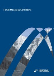 Fonds Montreux Care Home - Montreux Capital Management