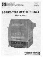 SERIES 7889 METER PRESET