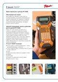 Profesionální tiskárny štítků pro použití v ... - SIC-Venim s.r.o. - Page 6