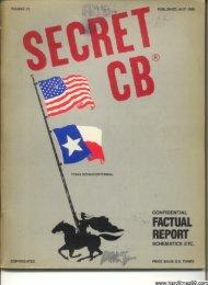 H - cb radio secret