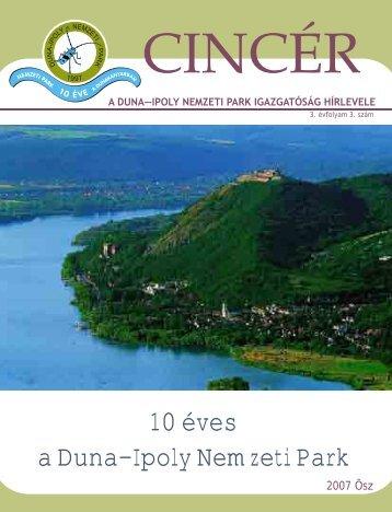 10 éves a Duna–Ipoly Nemzeti Park