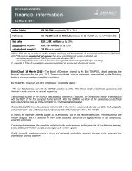 2012 Results press release - application/pdf - Dassault Aviation