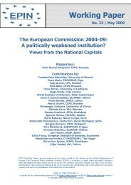 The European Commission 2004-09