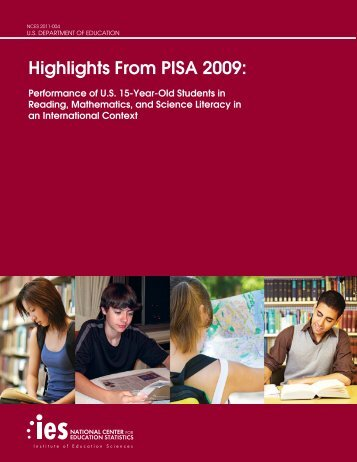 Highlights From PISA 2009 - National Center for Education Statistics