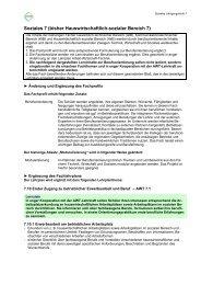 Soziales 7 (bisher Hauswirtschaftlich-sozialer Bereich 7)