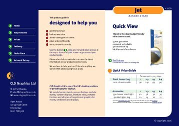 Jet Product Guide - CLS Displays
