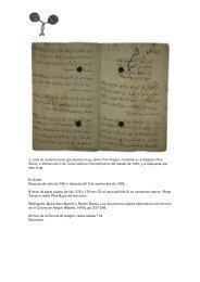 1. Lista de reclamaciones que plantea el rey Jaime II de ... - IEMed