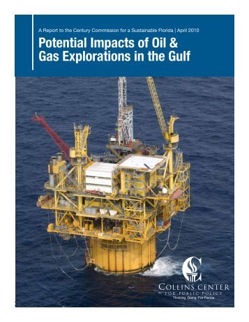 Potential Impacts of Oil & Gas Explorations in the Gulf - Mote Marine ...