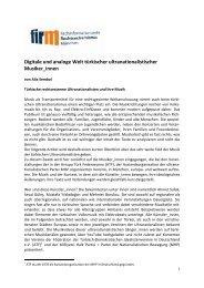 Digitale und analoge Welt türkischer ultranationalistischer ...