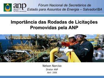 Apresentação do PowerPoint - Fórum Nacional de Energia