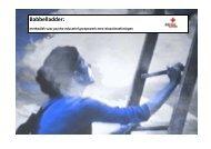 Draaiboek - De babbelladder - Rode Kruis-Vlaanderen
