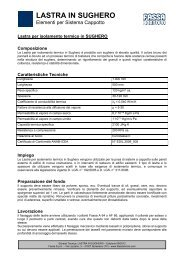 LASTRA IN SUGHERO - Infobuildenergia.it