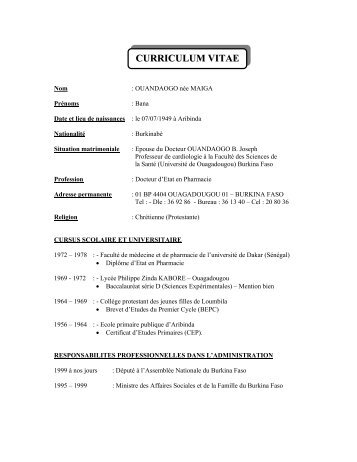 CURRICULUM VITAE - International Red Cross and Red Crescent ...