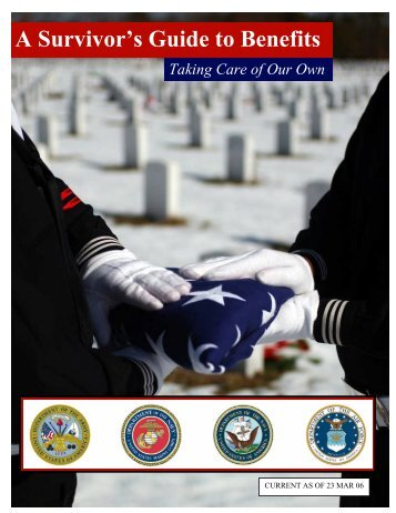 A Survivor's Guide to Benefits - National Military Family Association