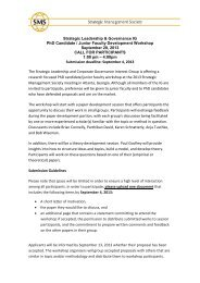 Strategic Leadership & Governance IG PhD Candidate / Junior ...