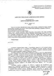 nutartis - Lietuvos Respublikos muitinė
