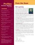 Summer 2006 - University of Minnesota College of Veterinary ... - Page 2