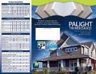 Palight Trimboard Tri-Fold - Palram Americas
