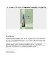 2011-12-30-Belecke-50 Jahre Kirchweih Heilig Kreuz