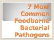 8 Most Common Foodborne Pathogens - BCHD