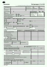 Næringsoppgave 2 RF-1167B (PDF) - Skatteetaten