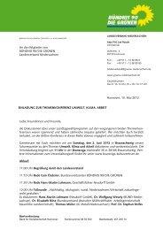 Einladung zur Themenkonferenz Umwelt, Klima und Arbeit