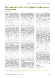 Striking the right balance - World Health Organization