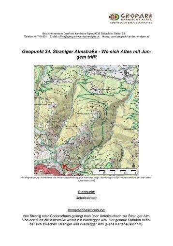 Geopunkt 34 - Geopark Karnische Alpen