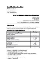 ELISA Kit for Mouse Lactate Dehydrogenase(LDH) - USCN Life ...