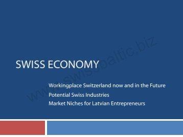 Swiss Economy - LIAA