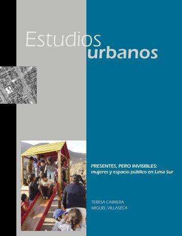 mujeres y espacio público en Lima Sur - Desco