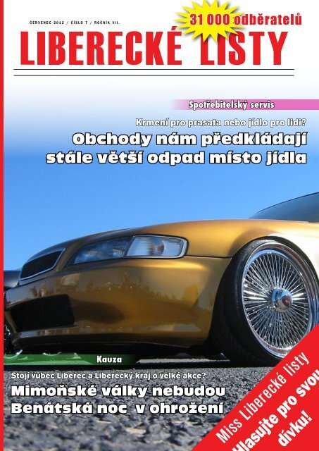Hlasujte pro svou dívku! - Liberecké listy