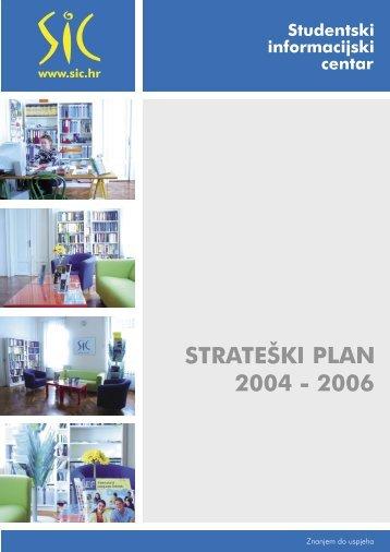 Strateški plan 2004.-2006. - Institut za razvoj obrazovanja