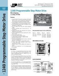1240i Programmable Step Motor Drive
