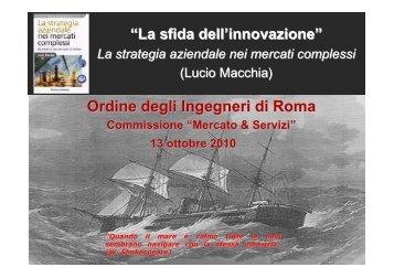 Atti del seminario - Ordine degli Ingegneri della provincia di Roma