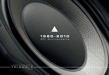 Triangle 30ième anniversaire documentation - VMAX Services