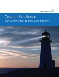 Code of Excellence: Our commitment to ethics and ... - Priority Health