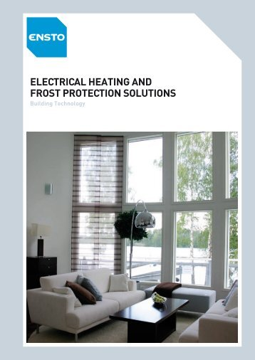 Electrical Heating and Frost Protection Solutions - Elram