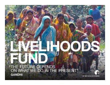 Livelihoods Fund - PROFOR