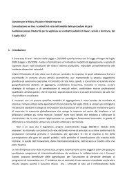 Garante per le Micro, Piccole e Medie Imprese - Autorità per la ...