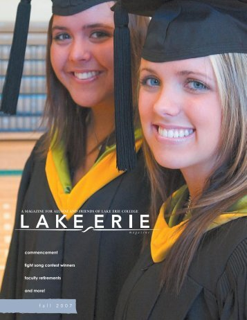 Fall 2007 - Lake Erie College