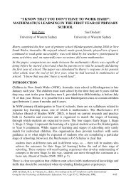 i know that you don't have to work hard - European Mathematical ...