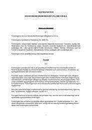vedtægter kan læses her - Skovdyrkerforeningen