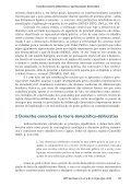Conselhos Sociais deliberativos e aprimoramento democrático: a ... - Page 3