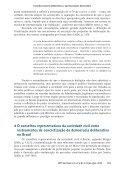 Conselhos Sociais deliberativos e aprimoramento democrático: a ... - Page 7