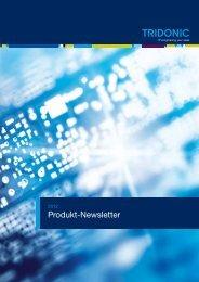 Produkt-Newsletter 2012