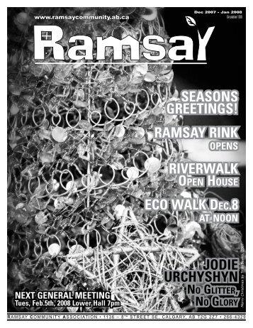 December 2007 - Ramsay Community Association